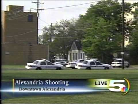4:52 pm cdt update downtown alexandria la shooting