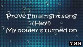 Gambar cover Rachel Platten - Fight Song ( 1 Hour Loop & Lyric )