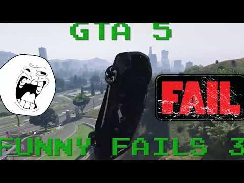 Gta V Funny Fails And Stunts! #3