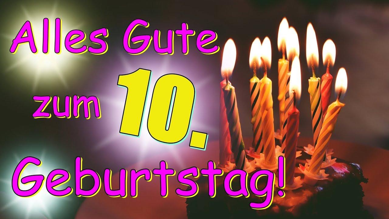 Geburtstagsvideo 10 Jahre Geburtstagsgrusse Zum 10 Geburtstag