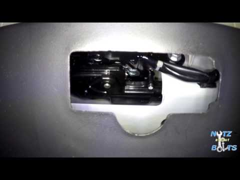 2010-2015 Toyota Prius How to manually open the rear hatch