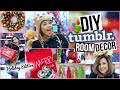 DIY Tumblr Room Decor + Affordable Christmas Decorations!