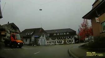 CH: Gemeinde Wynigen. Kanton Bern. Ortsdurchfahrt. Oktober 2019