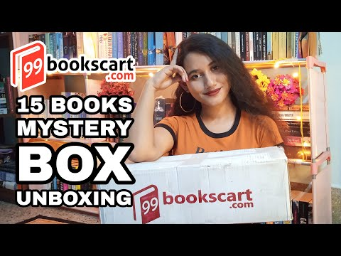 Massive Mystery Book Box Unboxing | 99bookscart | PR Package