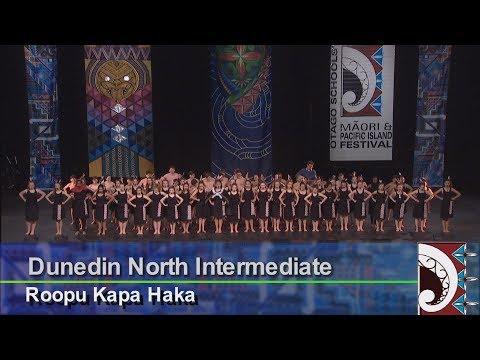 Dunedin North Intermediate School – Roopu Kapa Haka