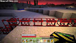 Minecraft LP Episode 4 (part 1) - Hanging out, Hiding Piston House, Intro to Buildcraft