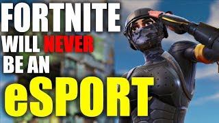 Fortnite Will Never Be An eSport