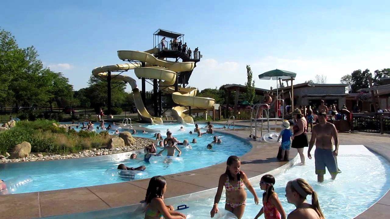 westerville highlands swimming pool aquatic center lazy river and slides youtube
