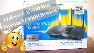 Linksys EA7500 Max-Stream AC1900 WI-FI Router Review