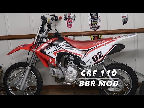 Building A Moded Honda Crf 110 BBR!!!!