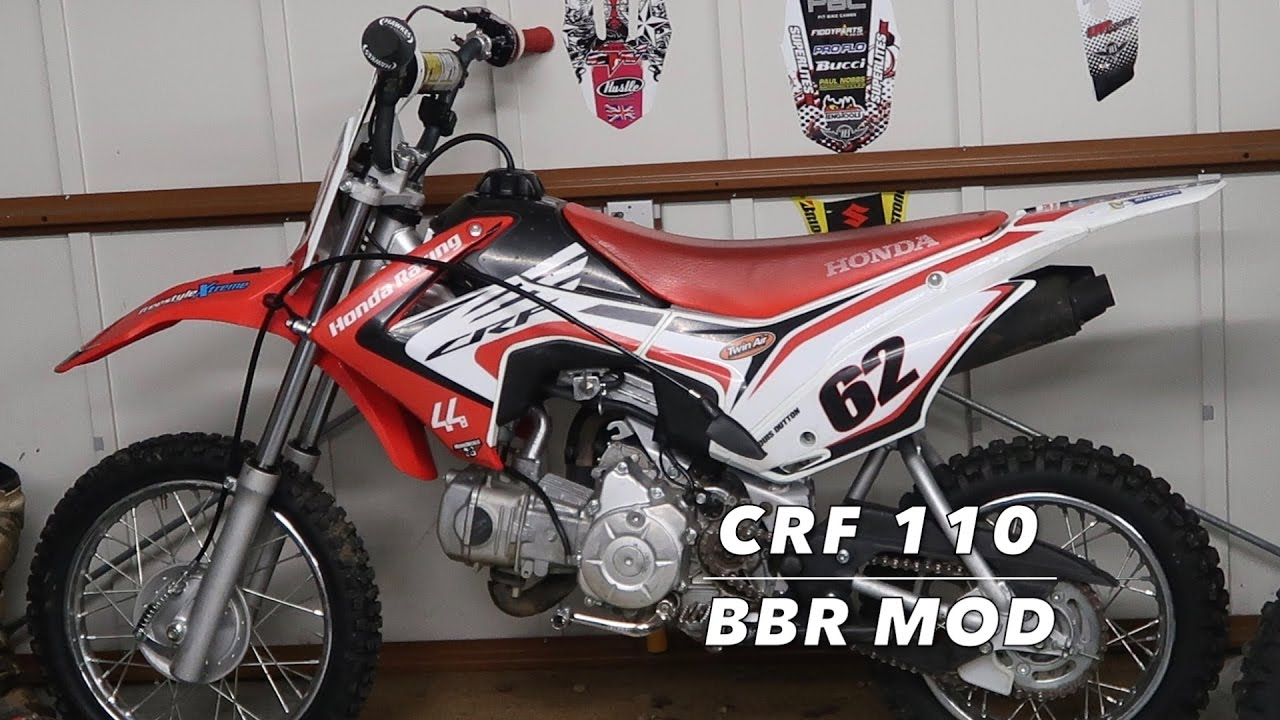 Building a moded honda crf 110 bbr youtube for Honda of cool springs