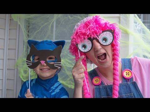 Disfraz de Halloween Cat Boy para nios DIY S3:E176