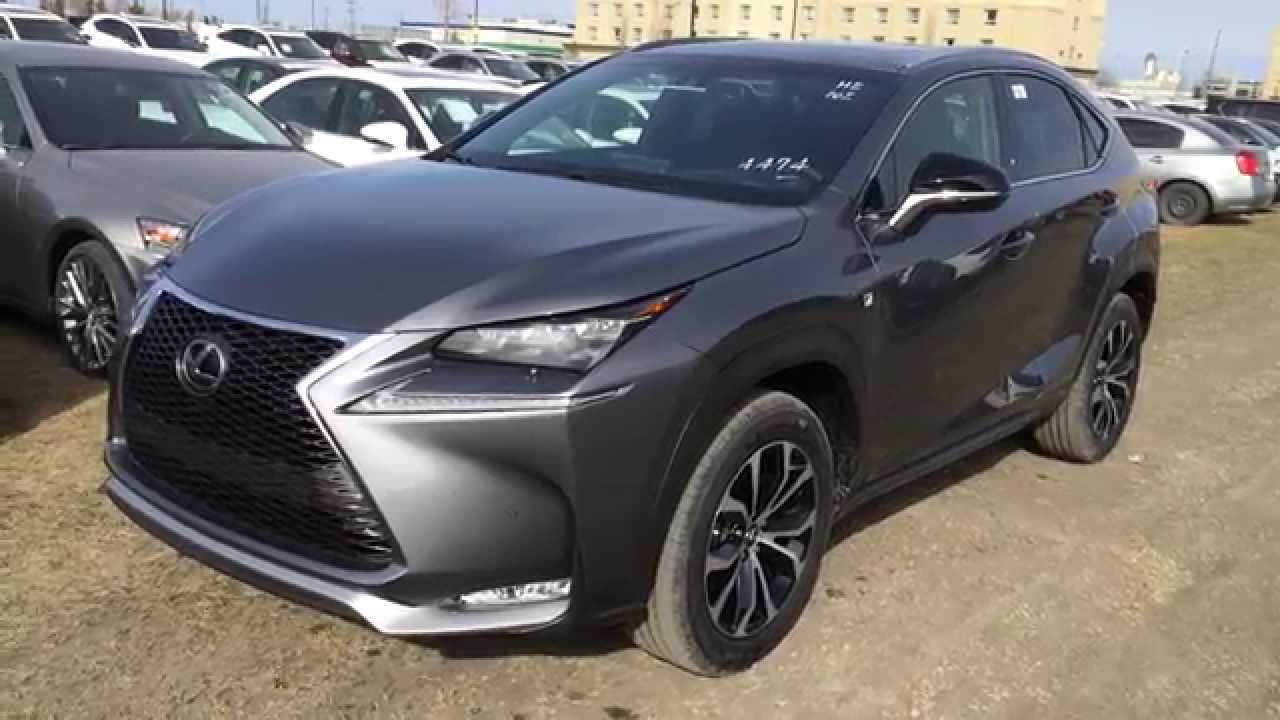 new grey on black 2015 lexus nx 200t awd f sport series
