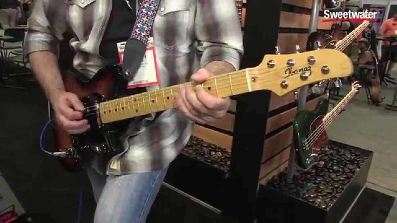 Summer Namm Ibanez Talman Prestige Guitar Demo By