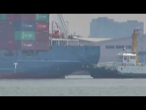 "CONTAINER SHIP M/V ""TS TAIPEI"" 刀根麻理子Ver."