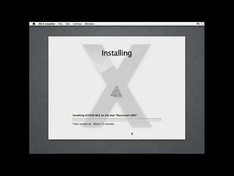 Mac OS X Mountain Lion on Virtualbox