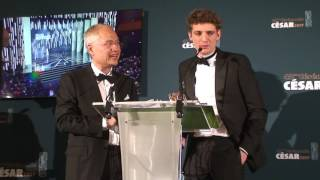 Cesar 2017 - Meilleur espoir masculin - Niels Schneider dans Diamant noir