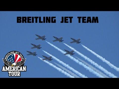 Canadian International Air Show 2015 Breitling Jet Team