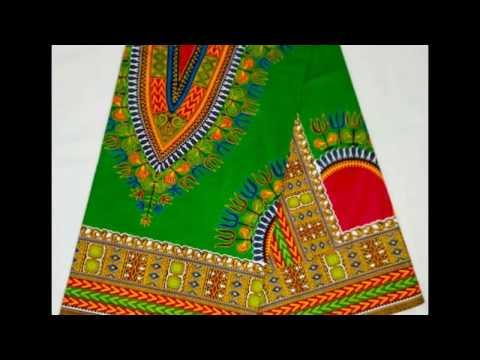 Angelina African Real Wax Ankara Dashiki Fabric 6yards Cotton Design
