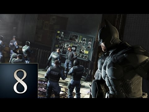 Batman Arkham Origins - Part 8 - Gotham City Police Department - Gameplay Walkthrough