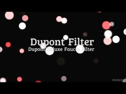 Dupont Faucet Filter - YouTube