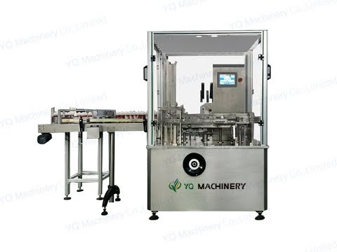 Vial Cartoning Machines Suppliers For 10ml Bottle Box Packaging Machinery