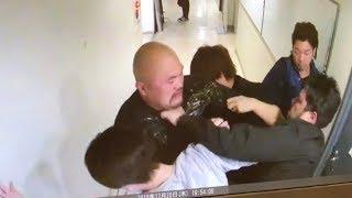 【衝撃映像】防犯カメラがとらえた若手芸人「鬼越トマホーク」のガチ喧嘩!【閲覧注意】