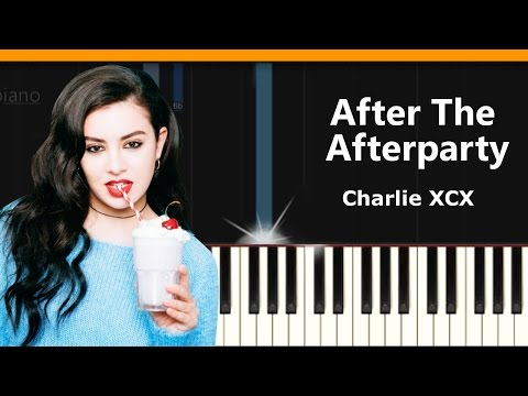 """Charli XCX - """"After The Afterparty"""" Piano Tutorial - Chords - How To Play - Cover"""