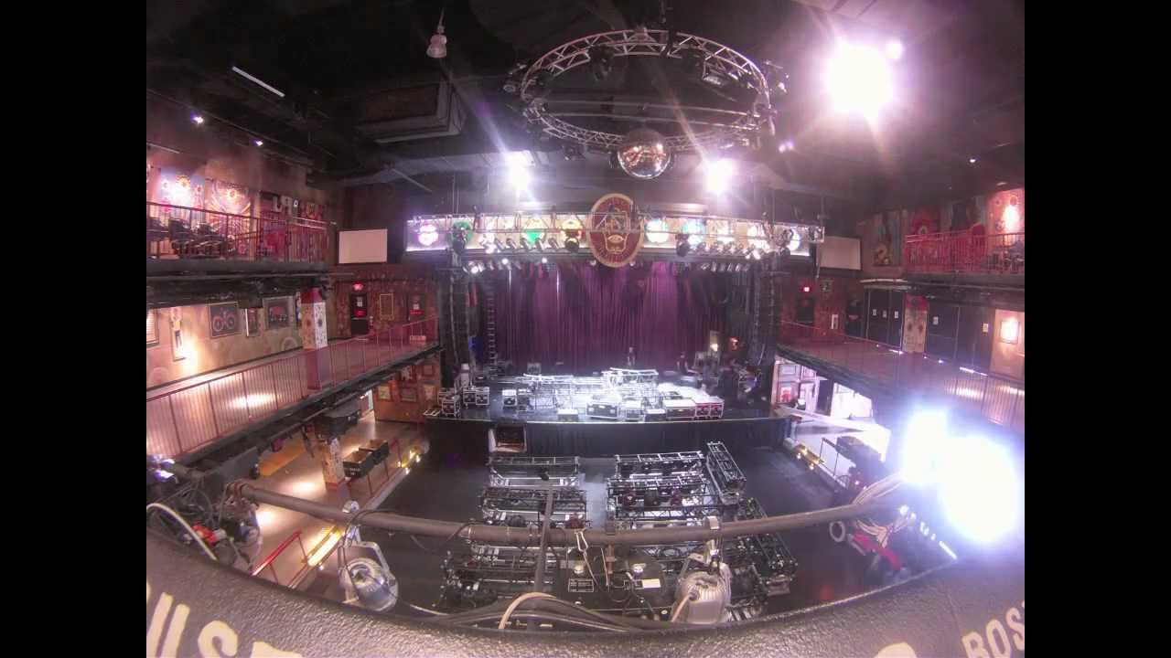 deadmau5 house of blues boston time-lapse stage setup (10/11/11