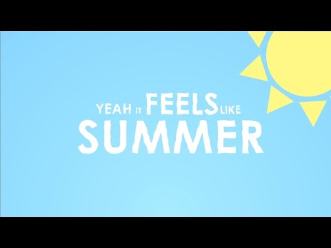 Weezer - Feels Like Summer (Lyric Video)