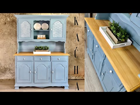 How To Chalk Paint Furniture And Glass