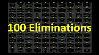 100 Eliminations Marble Race in Algodoo