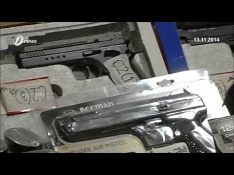 Malaysia Custom Seized Suspicious Box Of Firearms In KLIA