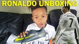 Cristiano ronaldo unboxing!! |cr7| tekkerz kid