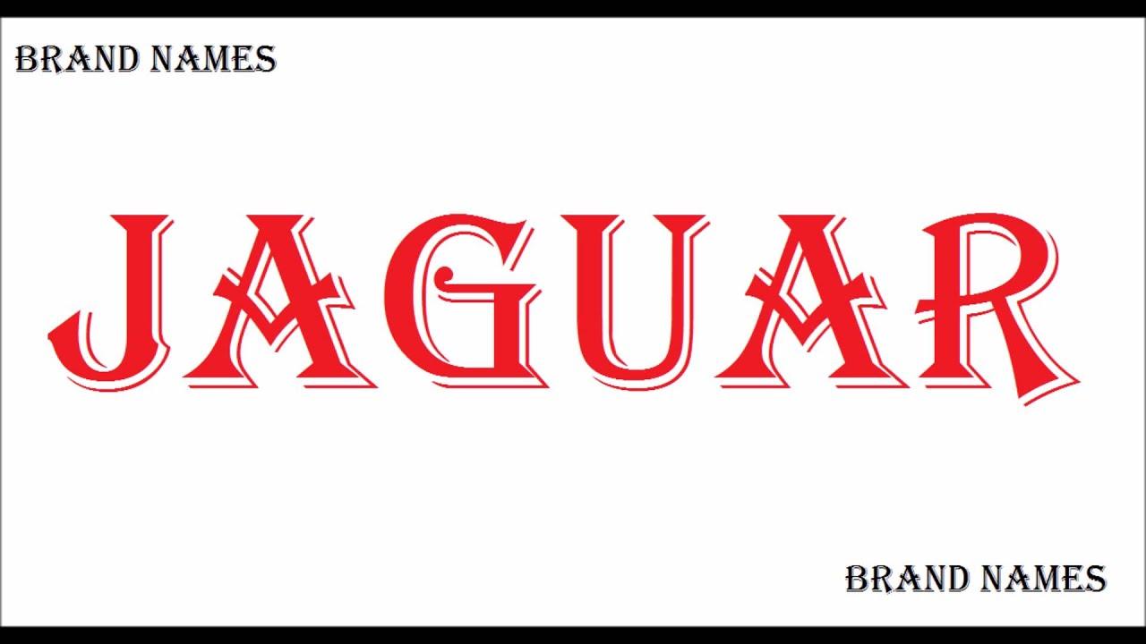 Jaguar pronunciation car