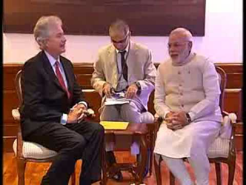 US Deputy Secretary William Burns meets PM Narendra Modi