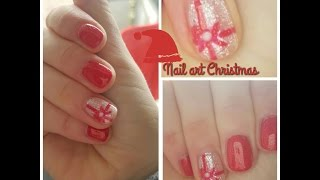 "Semipermanente Nail art 🎄""CHRISTMAS""🎁"