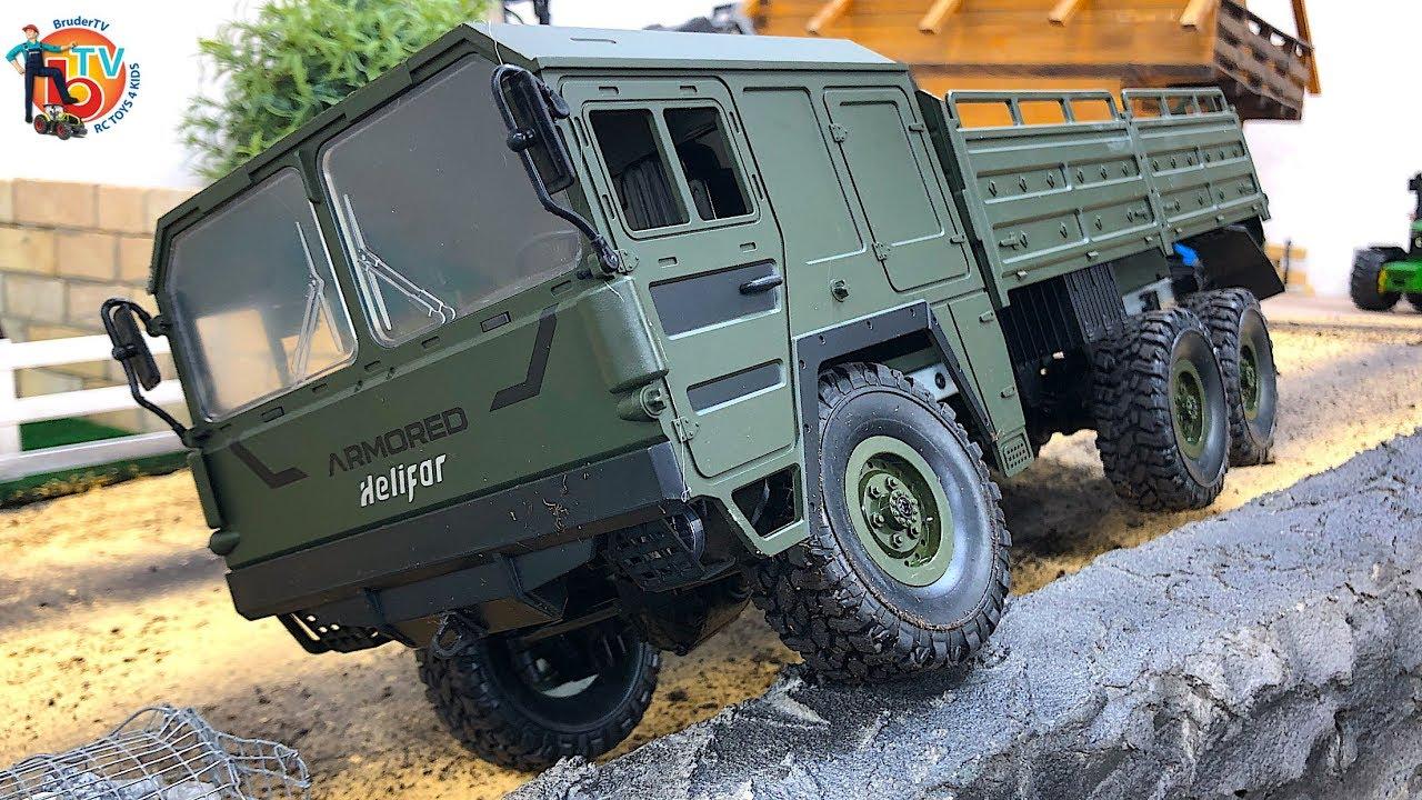 Military 2.4GHz Six-Wheel Drive Helifar HB-NB2805 1//16 Military RC Truck Car RTR