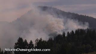 8/26/2015 Ashford, WA Wildfire Dense Smoke Plumes