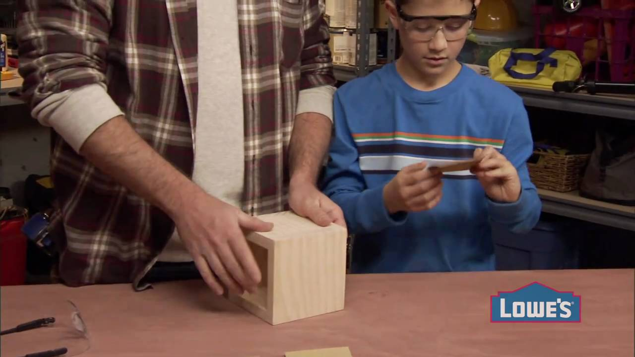 Woodworking Projects For Kids How To Build A Box