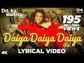 daiya daiya daiya re lyrical video dil ka rishta aishwarya rai arjun rampal alka yagnik