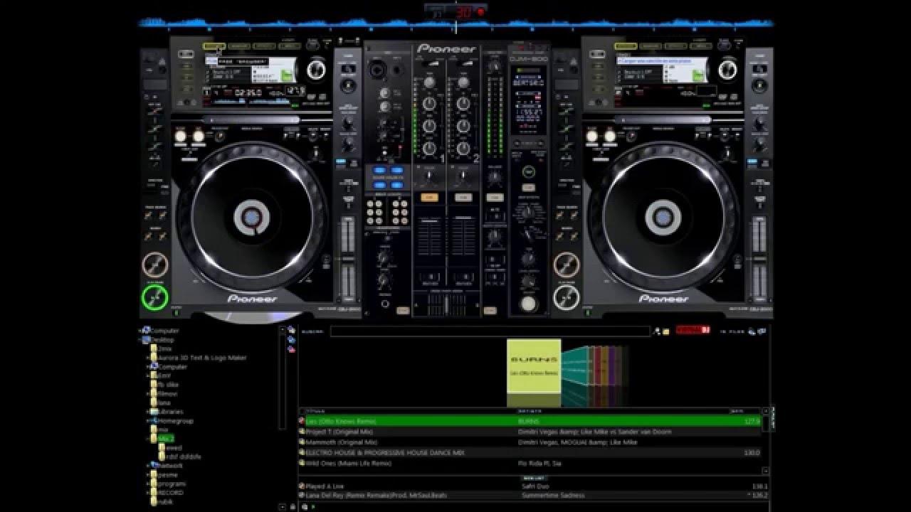 virtual dj skins pioneer cdj 2000 gratuit