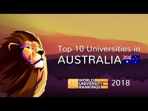The Top 10 Universities in Australia 2018