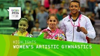 Seda Tutkhalyan Wins Women's Gymnastic Gold - Highlights | Nanjing 2014 Youth Olympic Games
