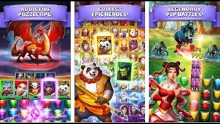 Empires & Puzzles : RPG Quest Gameplay Android / iOS