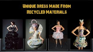 Download Video Unique Dress Design made From Recycled Materials - Amazing Craft Ideas – DIY Crafts Dress MP3 3GP MP4