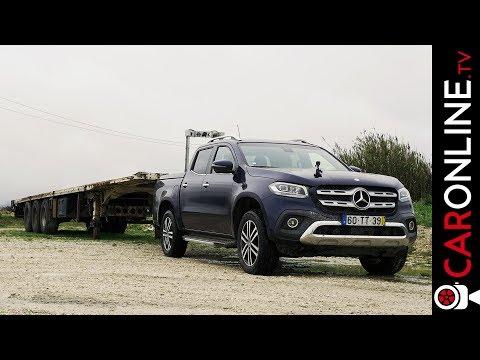 NAVARA faz BEM, a X faz MELHOR | Mercedes-Benz Classe X 250d [Review Portugal]