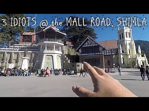 3 IDIOTS at The MALL ROAD in SHIMLA | HIMACHAL PRADESH Roadtrip Part 1 | Vlog #6