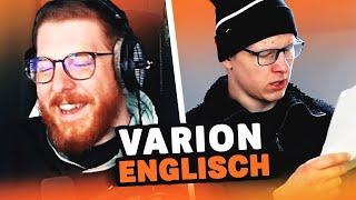 Unge REAGIERT auf SCHLECHTES ENGLISCH von Varion 👮 ungespielt Reaktion