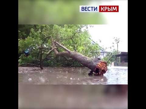 Непогода в Крыму. Как это было